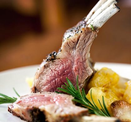 Traditional Roast Rack of Lamb